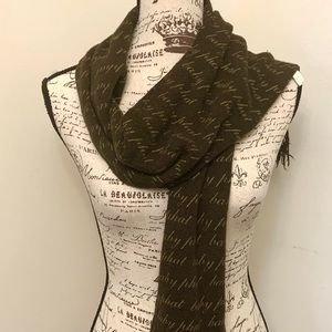 Baby Phat winter scarf